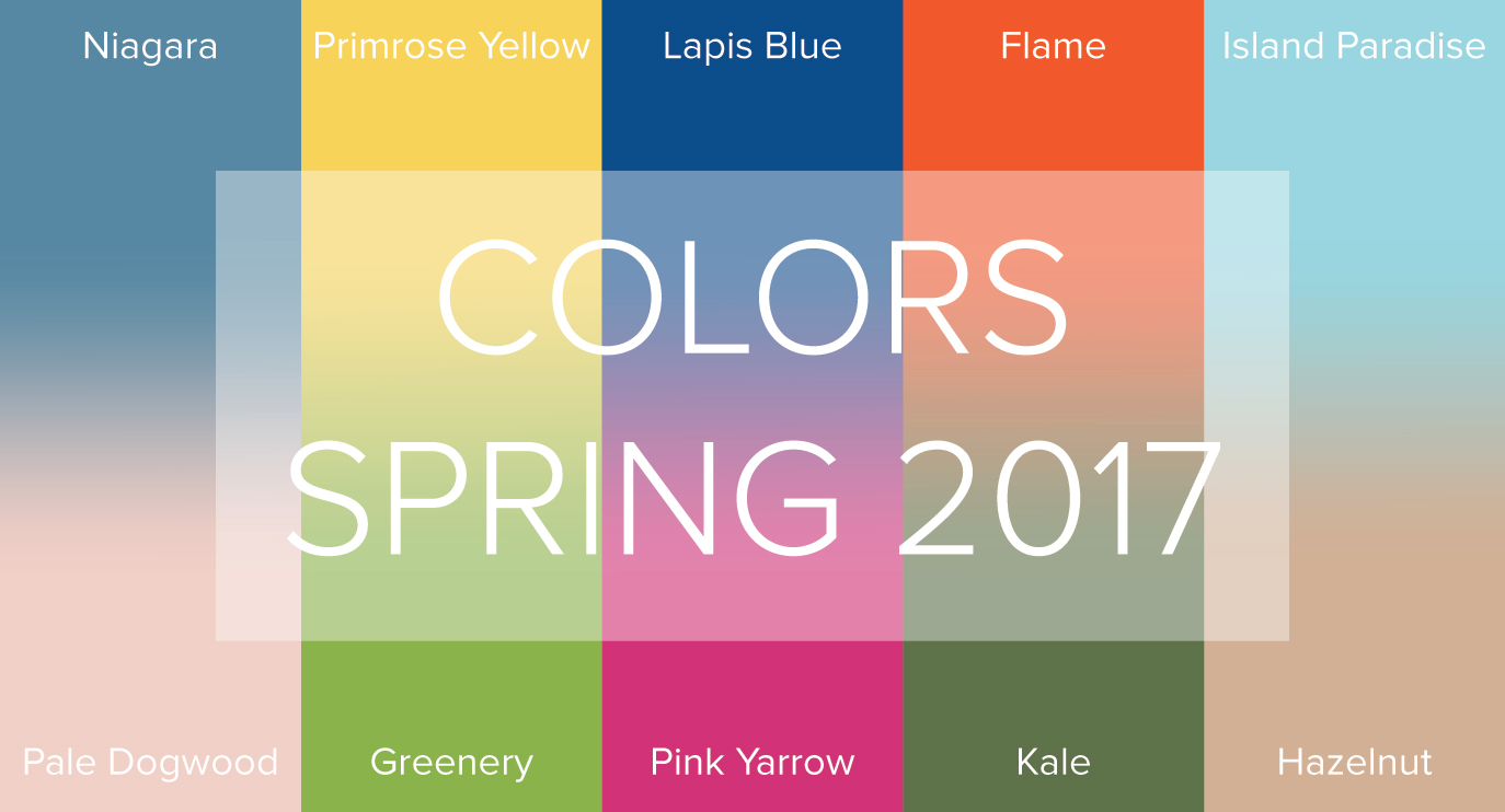 Spring 2017 Color Trends From Pantone Have Us Feeling Like We Re On Vacation