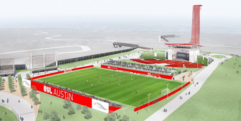 Pro Soccer Returns to Austin!