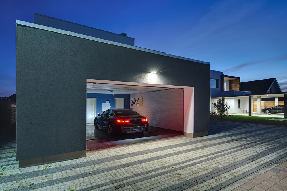 Smart Home Technology for the Garage