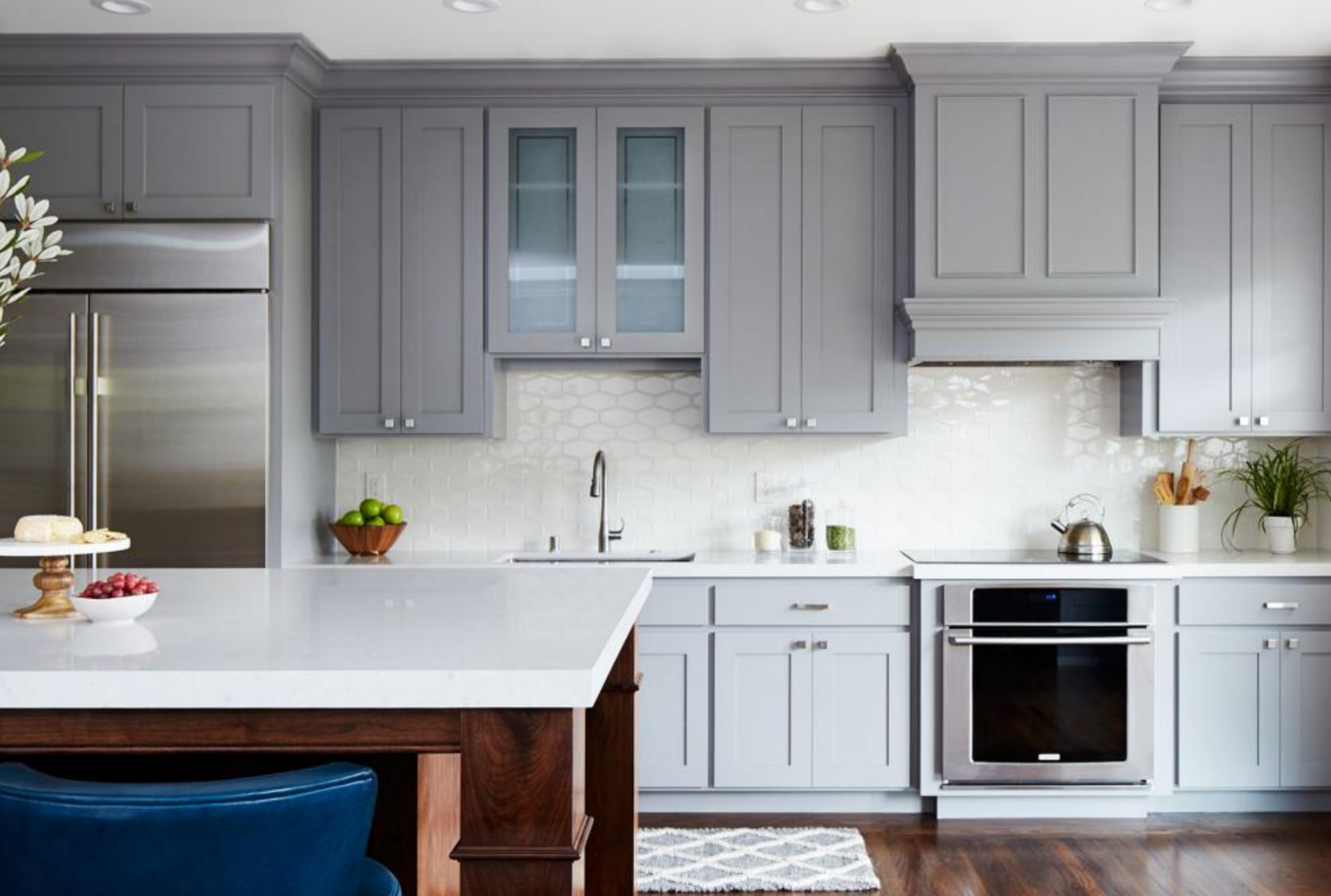 In the Kitchen...Painted vs. Stained Cabinets | Nicole ...