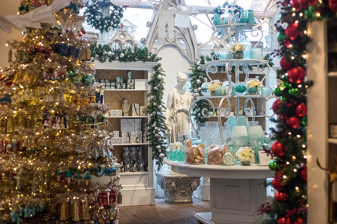 the buyers at rogers gardens have traveled the world to bring curated holiday gifts and decorations that showcase some of the oldest european craftsmanship - Noel Christmas Store