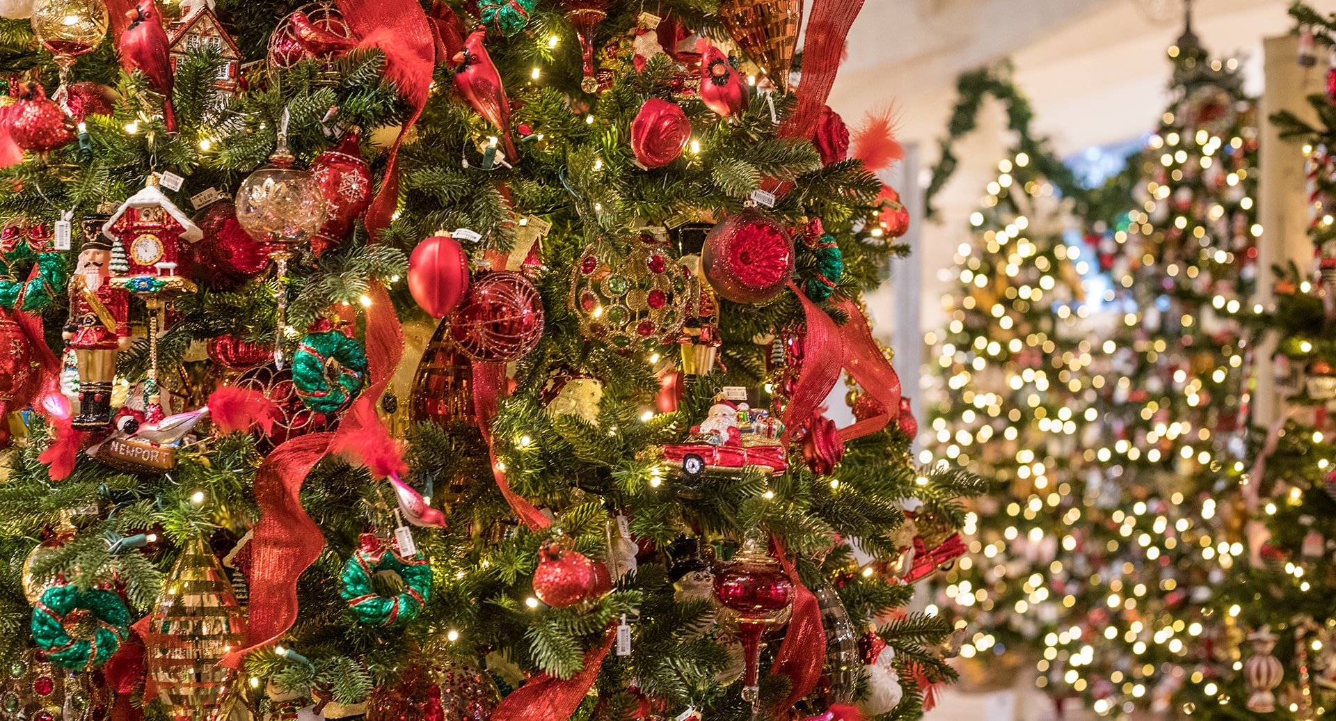Visit the Roger's Gardens 'The Wonder of Christmas' Boutique